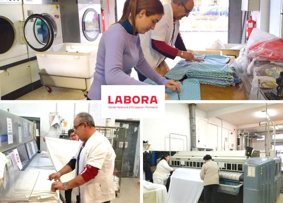 Subvención de LABORA para la Lavandería Industrial de Aprosdeco